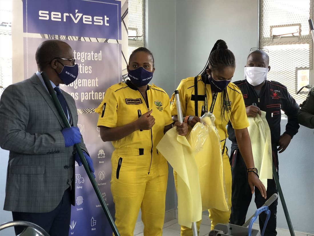 The cleaning industry ramps up to fight #Covid-19 at Pietersburg Provincial Hospital