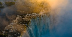 Victoria Falls thrives reaching highest flow levels in a decade
