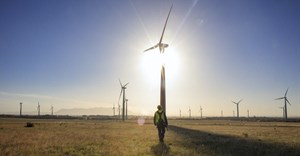 The first two of 24 new solar and wind farms under construction were completed in February but there's still a long way to go to boost electricity supply. GettyImages