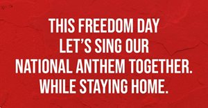 Lift hearts and voices and unite in song on Freedom Day