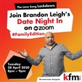 Save the Date: Brandon Leigh invites you to 'The Love Song Lockdown'