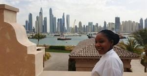 Former PHS student Rutendo Ruth Marovatsanga in Dubai