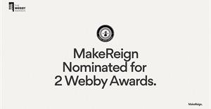 MakeReign nominated for 2 Webby Awards at the 24th Annual Webby Awards - the internet's highest honour