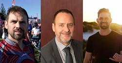The IAB's Digital Audio Committee members, Francois Retief (Iona FM), Gavin Kennedy (Solid Gold Podcast Studio) and Julian Jordaan (365 Digital).