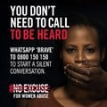 New WhatsApp line launched to help address spike in gender-based violence