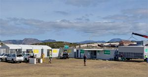 Cipla Foundation deploys Strandfontein modular medical facility