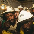 Workers from Kinross Gold Mine, South Africa. Brooks Kraft LLC/Sygma via Getty Images