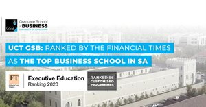UCT Graduate School of Business is number 1 in South Africa
