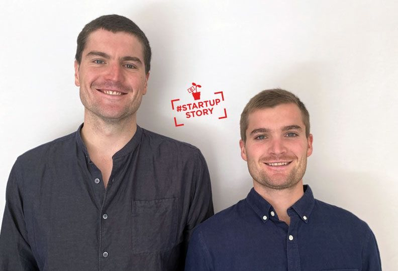 Nick Platt and Alex Platt, co-founders of SmartWage