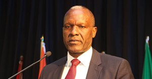 Tom Alweendo, Namibia's minister of mines and energy.