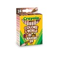 Crayola's new pack of crayons reflects multicultural skin tones