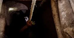 Going underground in Camarines Norte province, Philippines. EPA