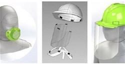 Mpact expands face shield range - adults, kids, hardhat shields and respiratory masks