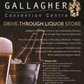Gallagher Convention Centre drive-through liquor store