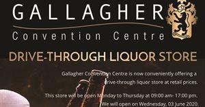 Gallagher Convention Centre drive-through liquor store