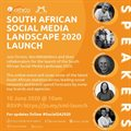 SA Social Media Landscape 2020 launch panel changes