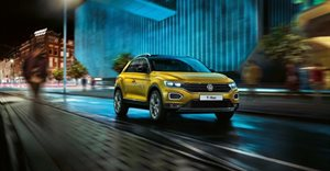 Welcome to Volkswagen's latest SUV the T-Roc