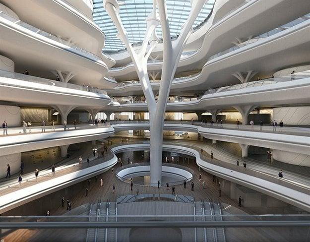 Sberbank Technopark in Russia by Zaha Hadid Architects.