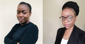 Siduduzile Bengu and Rinah Letsebe, engineers at Eaton