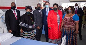 VWSA completes and hands over phase one of Covid-19 facility