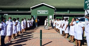The official opening and handover of a Covid-19 quarantine centre in Pietermaritzburg, South Africa. Darren Stewart/Gallo Images via Getty Images