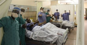 Shahied Fischer and Ivan Cummings were treated with HFNO at Groote Schuur Hospital. Image: Western Cape Health