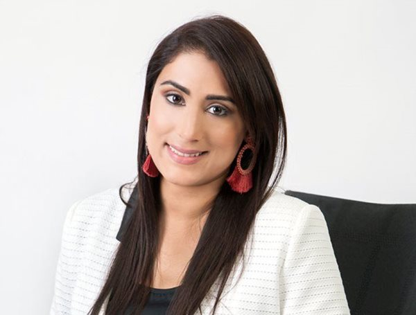Shilpa Mehta, the newly elected first female president of The Entrepreneurs' Organisation Durban Chapter (EO).