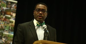 Akinwumi Adesina leads a bank that has the USA as its second largest shareholder. CGIAR/Wikimedia Commons, CC BY-NC-SA