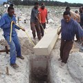 A victim of the Aids pandemic is buried in Cape Town in 2004. Kim Ludbrook/EPA.
