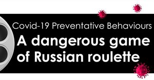 Covid-19 preventative behaviours: A dangerous game of Russian roulette