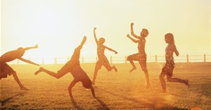 Children aged 0-14 years are likely to be physically active outdoors when it's warm. Hello World/Getty Images