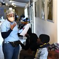 A general view during the country's first human clinical trial for a potential Covid-19 vaccine in Soweto, South Africa. Felix Dlangamandla/Beeld/Gallo Images via Getty Images