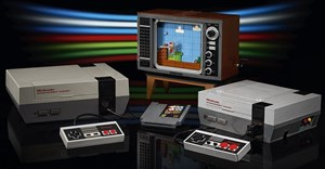 New Lego set replicates playing Super Mario on classic NES