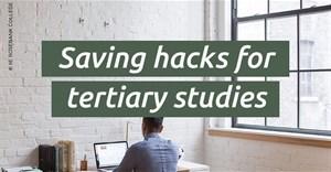 Three saving hacks for higher education