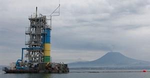 Methane gas extraction on Lake Kivu. Photo by Eric LAFFORGUE/Gamma-Rapho via Getty Images