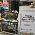 Pick n Pay to match all donations at till points on Mandela Day