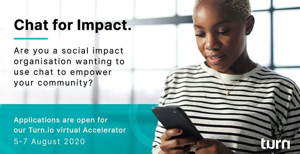 Chat for Impact Accelerator opens applications