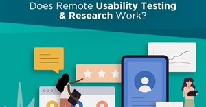 Remote research and usability testing during lockdown