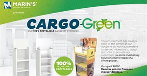 Marin's Southern Africa launches new 100% recyclable range of stockers