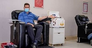 SANBS CEO, Dr Jonathan Louw, was among one of the first people diagnosed with Covid-19 in South Africa. He is giving back by making the country's first convalescent plasma donation.