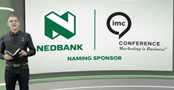 Pepe Marais opens Nedbank IMC 2020, makes a case for creativity