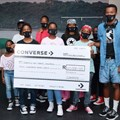 Converse hands over donation to Surfers Not Street Children