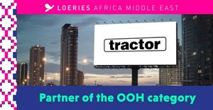 Tractor Outdoor to sponsor OOH category in what has been billed 'most important Loeries to date'
