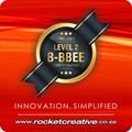 Big news! | Rocket Creative is now Level 2 B-BBEE certified