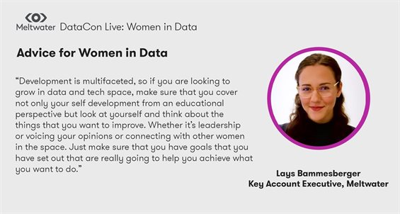 Making women in data more than a reality