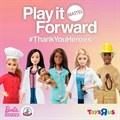 Mattel supports Children's Hospital Trust with #ThankYouHeroes initiative