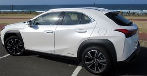 Driving the Lexus UX 250 Hybrid Luxury Compact Crossover