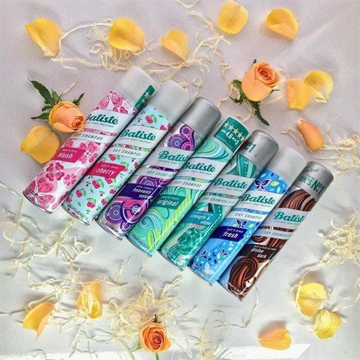 Batiste Dry Shampoo sells 2.7 units per second globally