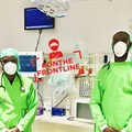Dr Rhulani Khosa and Dr Peters Mathebula