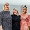 Anelde Greeff, co-director of SheSays Cape Town, Johannie van As, senior copywriter and director, SheSays Cape Town and new director Pride Maunatlala. Image credit: .